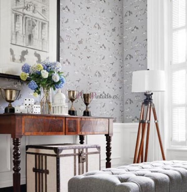 Thibaut papel pintado thibaut papel pintado thibaut for Habitaciones familiares zaragoza