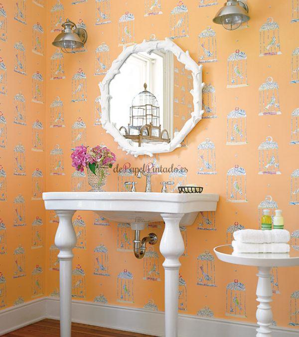 Thibaut papel pintado thibaut papel pintado thibaut for Papel pintado plateado barato
