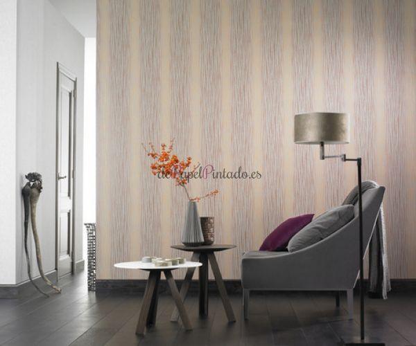 Depapelpintado papel pintado decoas rayas 773 125 for Papel pintado rayas verticales catalogo