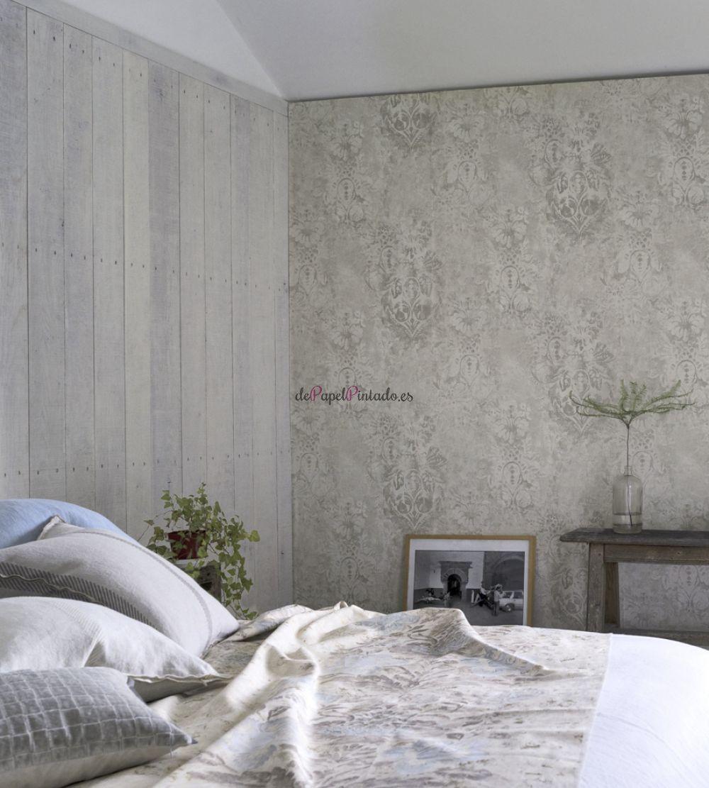 coleccin de papel pintado boratti de sutiles texturas y tonos neutros para sus paredes inspirado por los frescos venecianos