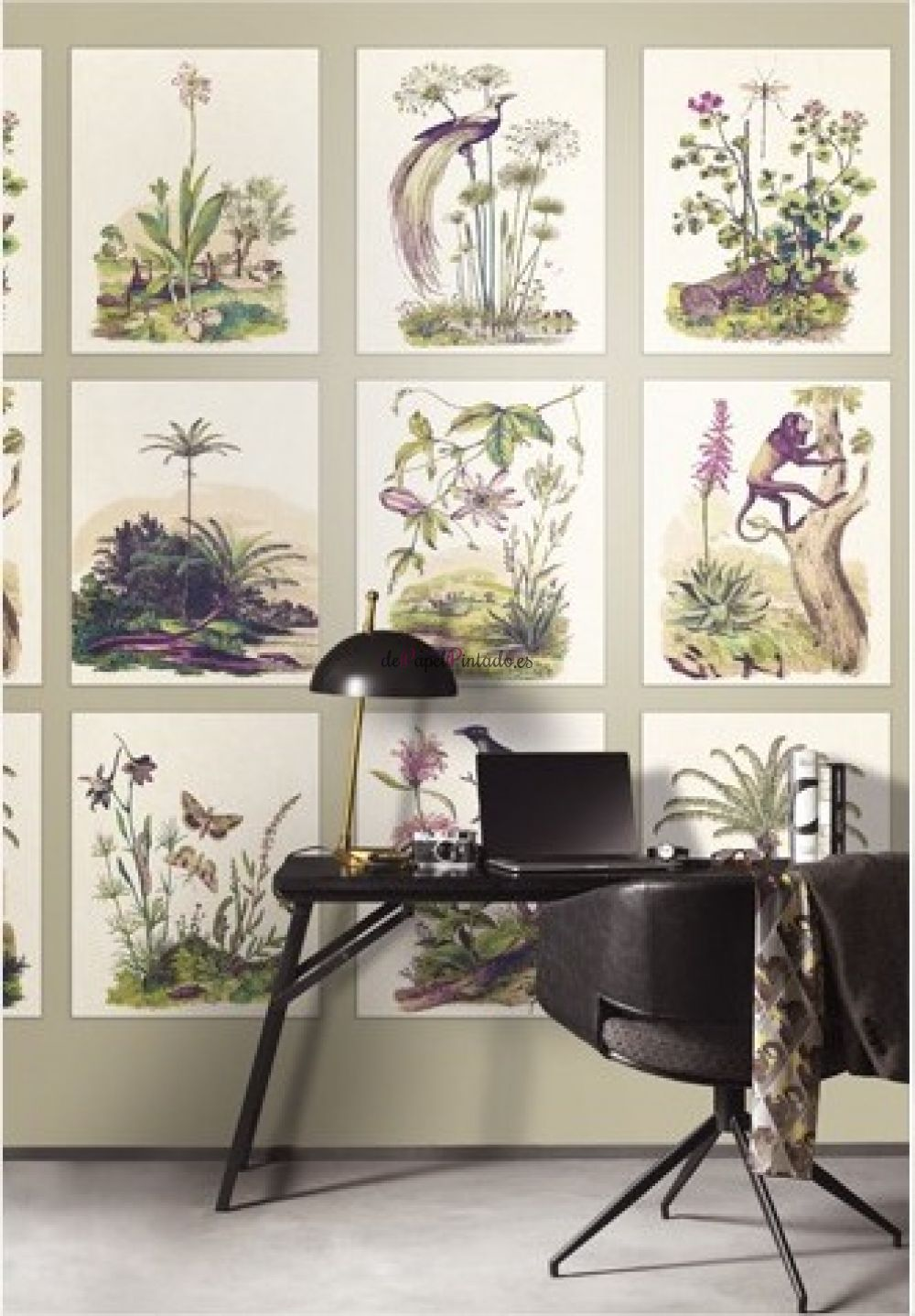 Papel pintado para muebles stunning papel pintado muebles - Papel pintado adhesivo para muebles ...